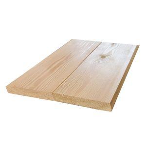 Rhombusleisten Massivholz Sibirische Lärche 2,2x12x300 cm, 6-er Pack, Sort. AB
