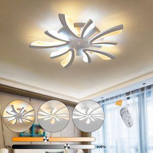 LED Deckenlampe Deckenleuchte Badleuchte 35W Dimmbar Lampe mit Fernbedienung NEU