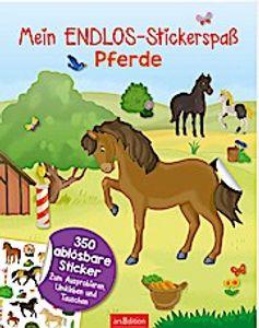 ars Edition Mein Endlos-Stickerspaß: Pferde