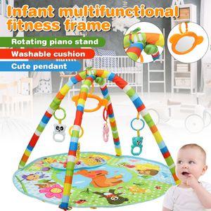 Baby Spiel Krabbeldecken Spielbögen Baby Fitness Stand Pedal Piano Neonatal Fernbedienung Musik Spielzeug Baby Pedal Klavierständer Kleinkind Indoor Educational Toys