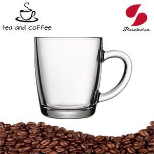6er Set Kaffee-/Teeglas Mit Henkel  Pasabahce 55531