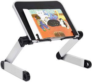 Desktop Bücherständer, 360 Grad Einstellbar Leseständer Bücherstand Bücherständerhalter Buchstützen Tablet-Ständer Aluminiumlegierung