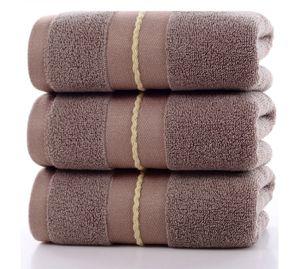 3 Baumwolltücher, weich, saugfähig und schnell trocknend, dickes großes Handtuch für Erwachsene 35 * 75 cm