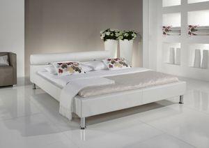 Meise Möbel 332-10-20000 Anello Polsterbett ; Farbe: Weiß ; Maße (BxLxH): 120 cm x 200 cm x 70 cm