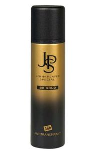 John Player Special BE GOLD 48h Antitranspirant JPS Deodorant Spray 150 ml