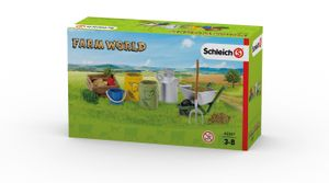 Schleich - Tierfiguren, Fütterung der Bauernhoftiere; 42301