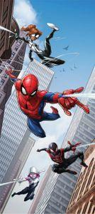 Spider-Man Fototapete Poster-Tapete - Skyscrapers, Marvel (202 x 90 cm)