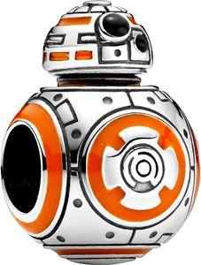 Pandora x Disney Star Wars Charm 799243C01 Star Wars BB-8 Silber 925 Orangene Schwarze Emaille