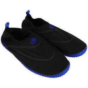 Herren Badeschuhe Gr.43 Blau Strandschuhe Wasserschuhe Aquaschuhe Schwimmschuhe Surfschuhe