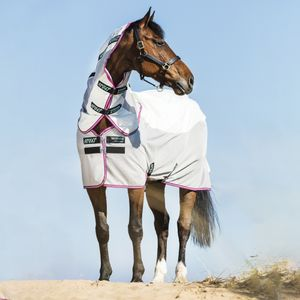 Horseware Amigo Airflow - Green/Purple, Größe:145