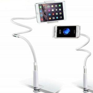 WISFOR Universal Schwanenhals Halterung Tisch Bett Handyhalter verstellbar für Handy Smartphone Tablet