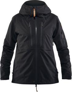 Fjällräven Keb Eco Shell Jacket Women - Regenjacke - black 550 - Gr.S