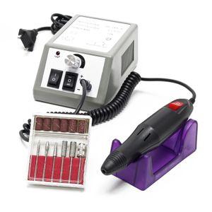 Profi Nagelfräser Elektrisch Nagelfeile Set Pediküre Maniküre Nail Art 6 Bits