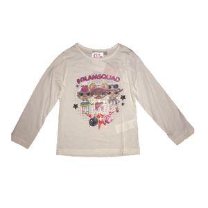"""L.O.L: Surprise!™ T-Shirt """"Glamsquad"""" langärmelig, weiß mit Glitzer- Effekt 116"""