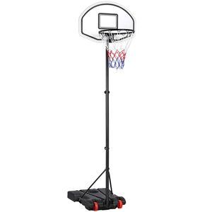 Yaheetech Basketballständer Basketballkorb mit Rollen Korbanlage  Outdoor Basketballanlage