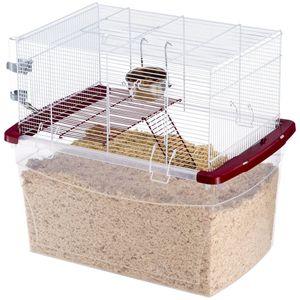 Ferplast 2-stöckiger Hamster- und Meerschweinchenkäfig Gerbi 57057511