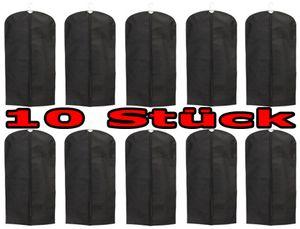 Kleidersack aus Stoff mit Reißverschluss 61x135 cm im 10er Pack Kleidersack