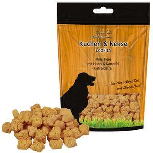 Schecker 3 x 500g - Mini Tiere Huhn & Kartoffel Getreidefrei - Glutenfrei - Ohne jegliche Zusatzstoffe