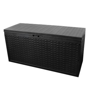Auflagenbox Cargo Kissenbox Anthrazit 320L 120x45xH60cm