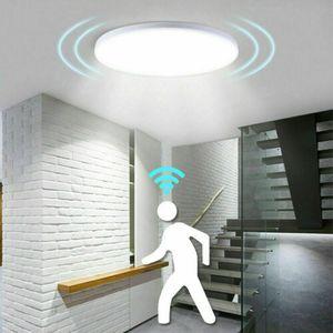 LED Deckenlampe mit Bewegungsmelder Sensor 18W Deckenleuchte Flurlampe Lampe