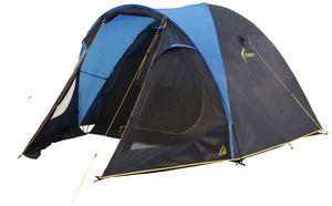 High Peak 2 Personen Kuppelzelt mit 2,000 mm Wassersäule, wasserdicht und atmungsaktiv, geräumige Schlafbereich, Dunkel-grau