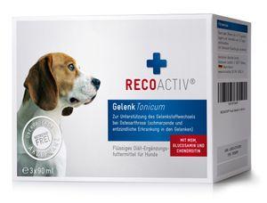 RECOACTIV® Gelenk Tonicum für Hunde, 3 x 90 ml