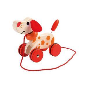 Joueco 80046 Nachziehtier Hund - Walking Dog