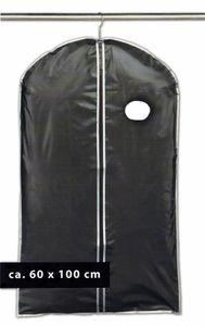 KLEIDERSACK 60x100cm Schwarz Reisesack Schutzhüllen Kleiderhülle Pr