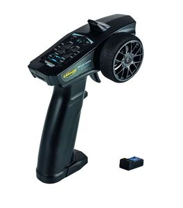 Carson RC Junior Reflex Wheel Start 2.4G Radio Schwarz Fernsteuerung für kleine Hände