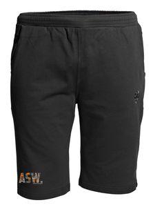 Übergrößen ! Sweat Short AHORN SPORTSWEAR ASW orange/grau Schwarz 9XL