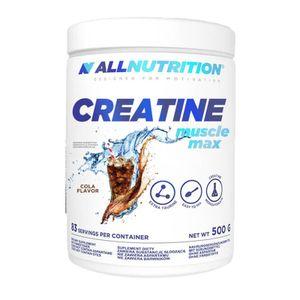 Creatin Kreatin 500g Cola Creatine Pulver Monohydrate Taurin Muskelaufbau Kraftzuwachs Ausdauer Aufbauphase
