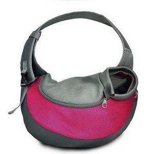 Style Transporttasche für Hunde Katze -Haustier-Hunde Tasche Umhängetasche für Transporter Kleintier Leinentaschen(L)