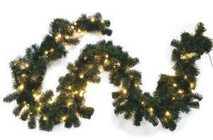 Hellum 577976 Türgirlande mit Beleuchtung LED Grün Hellum
