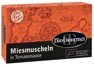 BioGourmet Miesmuscheln in Tomatensauce 115g