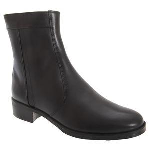 Scimitar Herren Boots / Stiefelette / Stiefel mit niedrigem Absatz DF188 (42 EU) (Schwarz)