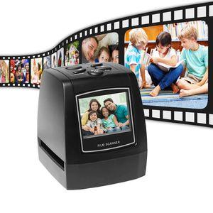 Aibecy Filmscanner 35mm 135mm Protable Diafilm Konverter Foto Digital Image Viewer mit 512 MB Eingebauter Speicher