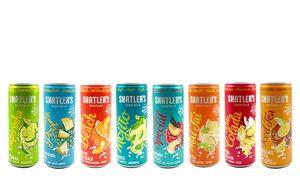 Shatlers Cocktail Mix Paket - 8 versch. Coktail Sorten : Long Island Iced Tea + Havanna Special + Pina Colada + Sex on the Beach + Mojito + Mai Tai + Swimmingpool + Caipirinha je 0,25L (10,1% Vol) ink. Pfand EINWEG- [Enthält Sulfite]