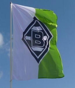 Borussia Mönchengladbach Hissfahne 150 x 250 cm
