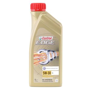 1 Liter CASTROL 5W-30 EDGE LL ACEA C3 Porsche C30 MB 229.31 VW 504 00 MB 229.51 VW 507 00