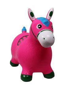 ARBO-INOX® Hüpfpferd Hüpftier Kinderhüpfpferd QHP Farbe - rosa