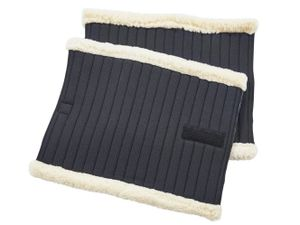 BUSSE Bandagen-Unterlagen KLETT-FUR, schwarz, 33x45