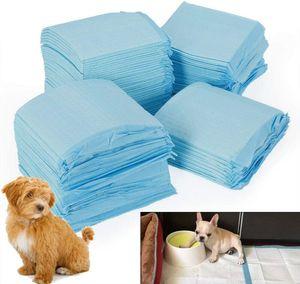 Hygieneunterlagen für Haustiere, Trainingpads 100PCS Welpenunterlage Welpentoilette für Zuhause Pet and Puppy Training Pads