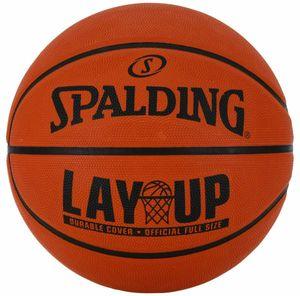 Spalding LAYUP Outdoor Basketball Größe 7 orange Kinder