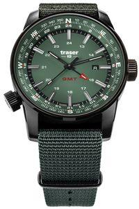 traser H3 109035 Herrenuhr Pathfinder GMT Grün