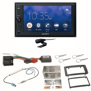 Sony XAV-V10BT Moniceiver Bluetooth USB MP3 Einbauset für T5 2003-2015 Multivan