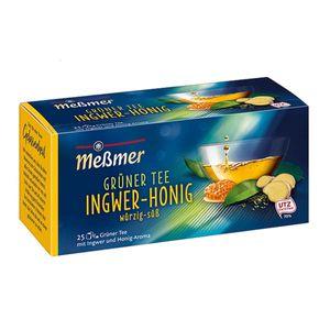 Meßmer Grüner Tee Ingwer Honig mit Ingwer aromatisiert Honig 43g
