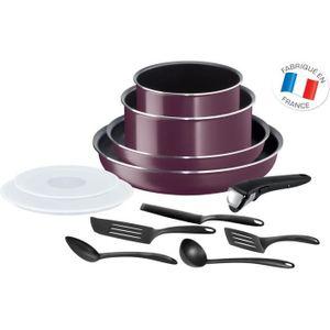 Ingenio Essential Violet Byzantium 12-teiliges Kochgeschirrset Alle Lichter außer Induktion L2019702