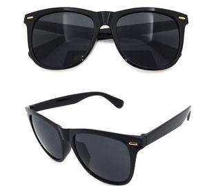 Herren Einfache Sonnenbrille Polarisiert Aviator metal 100% UV-400 Pilotenbrille