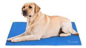 Pecute Kratzfest  kühlmatte Hundematte, Hundekühlmatte, Hundedecken - Bleiben Sie Länger Kalt, Hundekatzen,Hund Kühlmatte Auto, Haltbarer - (Blau)