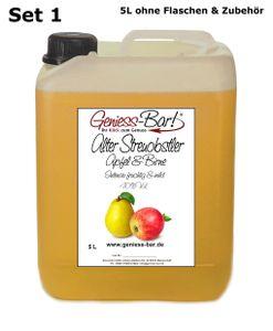Alter Streuobstler Apfel & Birne 5L wunderbar aromatisch & sehr mild 40%Vol